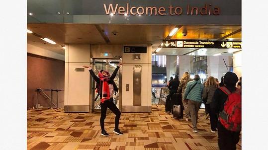 Nikola Buranská odjela do Indie.