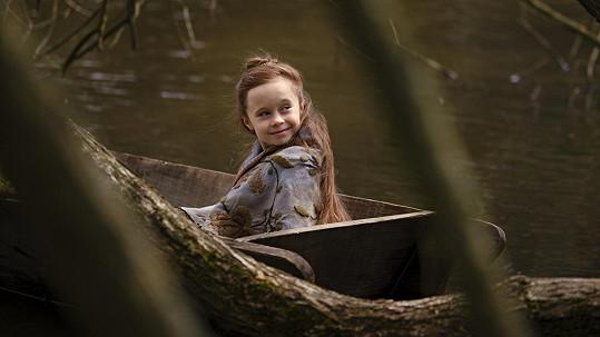 Valentýna Bečková jako princezna Johanka