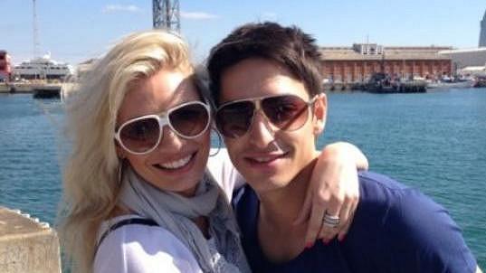 Lucie Borhyová a její přítel Michal Hrdlička
