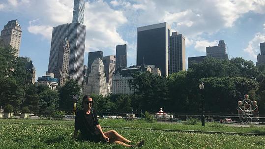 Poslední zastávkou americké dovolené Gábiny Partyšové byl New York.
