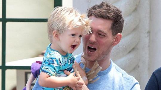 Syn Michaela Bublého Noah prý zvládl porazit rakovinu.