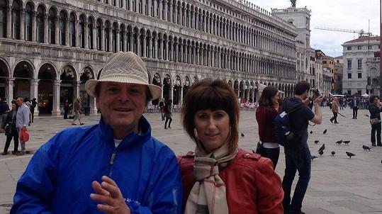 Pavel a Monika na Náměstí svatého Marka