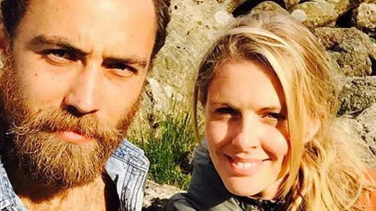 James Middleton opustil partnerku Donnu Air.
