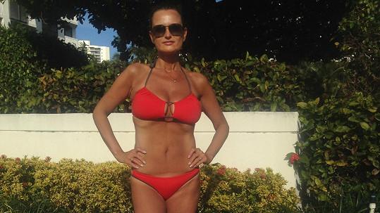 Jana Adamcová do Miami rozhodně nepřijela jen chytat bronz.