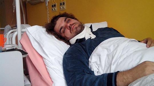 Pavel Rudolf Plasche v nemocnici