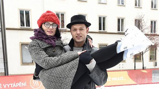 Jan Kříž s Markétou Procházkovou