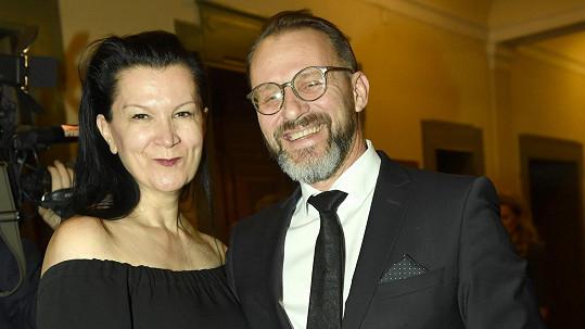 Táňa Kovaříková s nyní již manželem Petrem