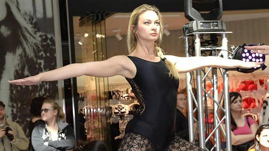 Bára Mottlová se předvedla v sexy trikotu.