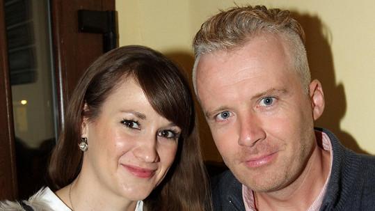 Robert N. s budoucí manželkou Lucií
