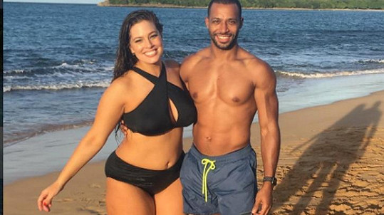 Ashley Graham s manželem