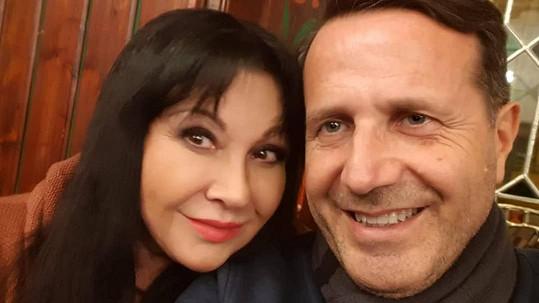 Dáda Patrasová a její přítel Vito