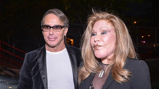 Jocelyn Wildenstein a Lloyd Klein