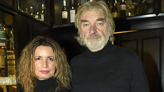 Vladimír Kratina s manželkou