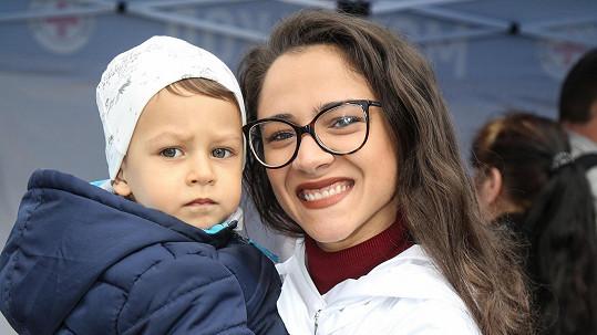 Eva se synem Nathanielem