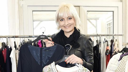 Bára Nesvadbová vydělala na charitativním bazaru milión korun.