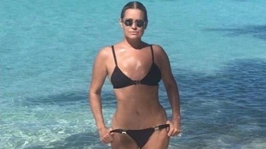 Yolanda Hadid (na snímku z června)