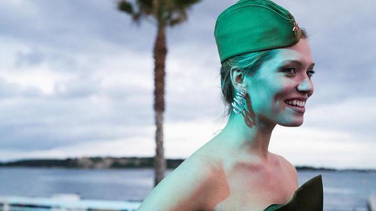 Hana Jiříčková v Cannes