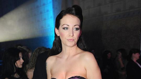Agáta Hanychová popřela, že je podruhé těhotná.