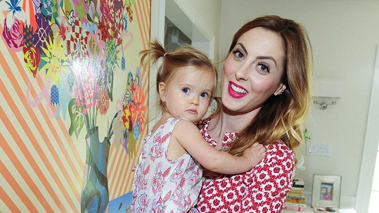Eva Amurri s dcerkou Marlowe