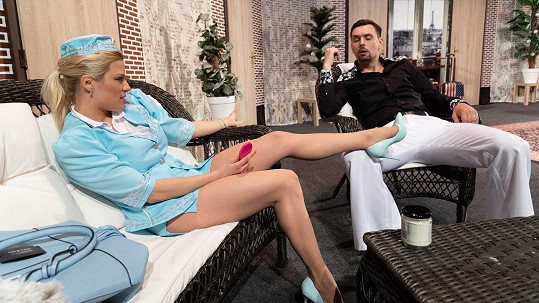 Moderátorka bude i na jevišti neuvěřitelně sexy.