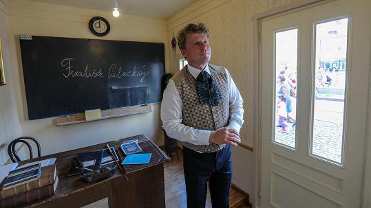 Herec Petr Batěk si v unikátním projektu vyzkoušel roli učitele.