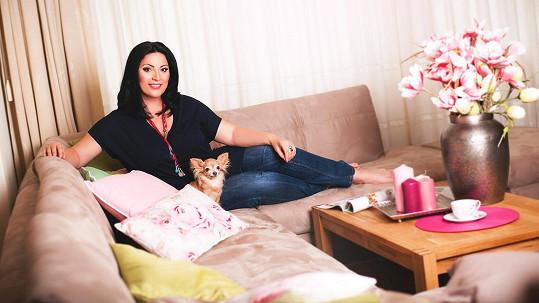 Ivana Christová ukázala svůj krásný byt.