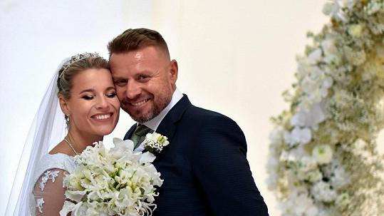 Zpěvačka Michaela Gemrotová se o víkendu vdala