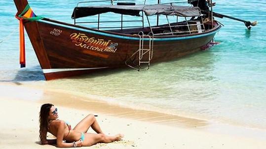 Michaela Štoudková v Thajsku