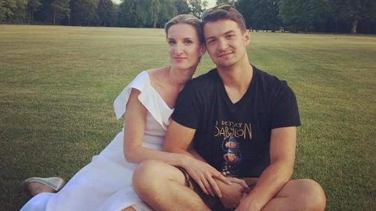 Adela Banášová a Viktor Vincze během své druhé svatby