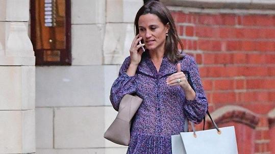 Pippa Middleton čeká první dítě.