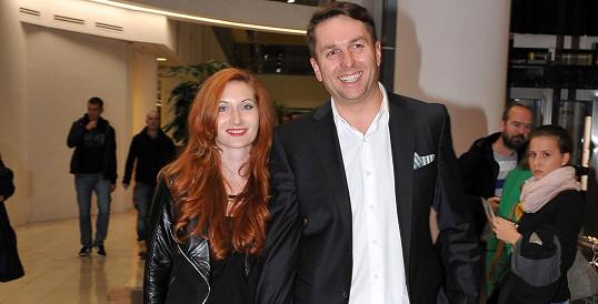 Tomáš Hauptvogel s přítelkyní Monikou
