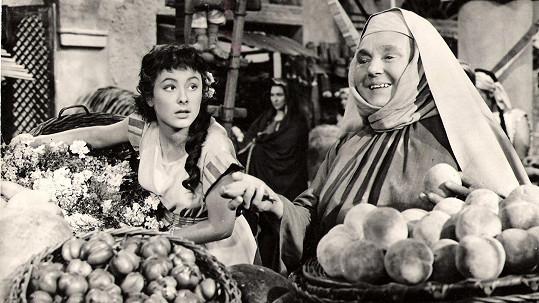 Dva roky před smrtí se Zdeňka Baldová potkala s Janou Rybářovou ve filmu Labakan (1956).