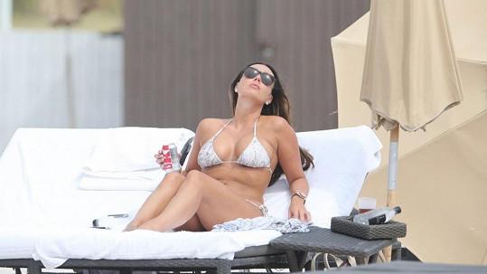 Tamara Ecclestone vystavovala své tělíčko v Miami.