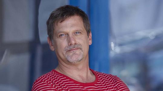 Tomáš Valík v době, kdy hrál v seriálu Ulice.