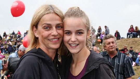Lucie Zedníčková s dcerou Amélií