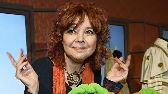 Magdalena Reifová oslavila výročí dětského pořadu.