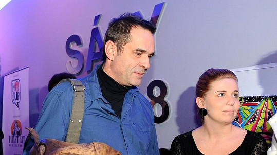 Miroslav Etzler s dcerou Markétou. Moc se nepotatila.