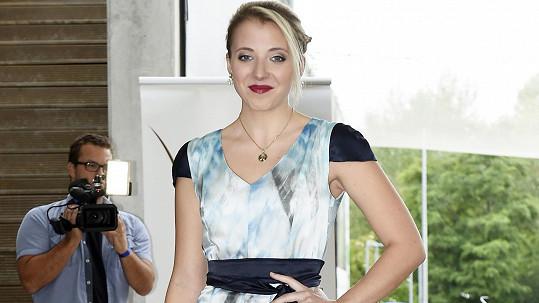 Anna Slováčková na módní show