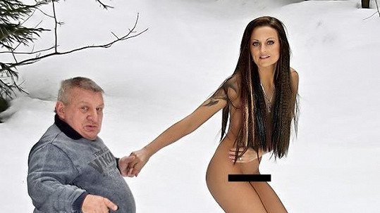 Nejmenší český herec miluje krásné ženy. On sám se před nimi ale také svléká.