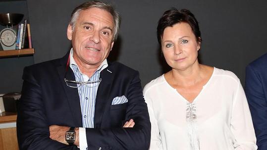 Jan Čenský s manželkou Danou