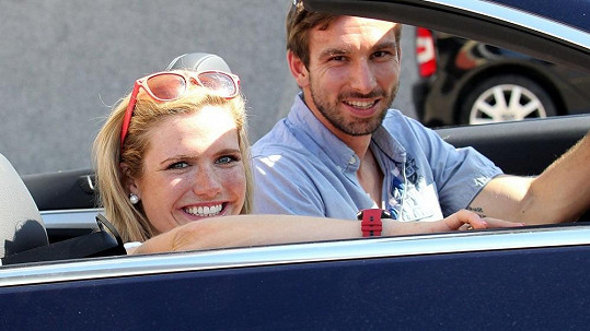 Gabriela Soukalová a Petr Koukal jsou novým hvězdným párem.