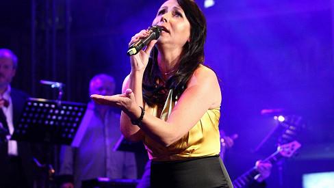 Heidi Janků na archivním snímku z vystoupení