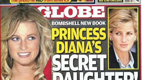 Je dívka na obálce opravdu utajovanou dcerou princezny Diany?