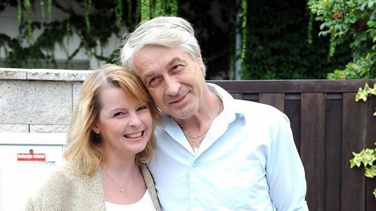 Iveta Bartošová s přítelem Josefem Rychtářem