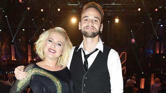 Miluška Bittnerová a Michal Necpál
