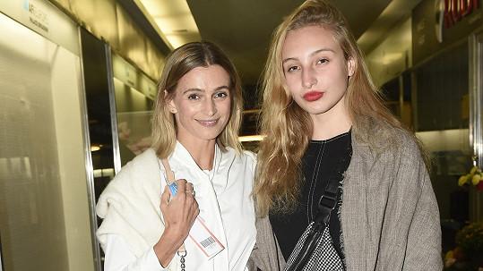 Ivana Jirešová s dcerou Sofií