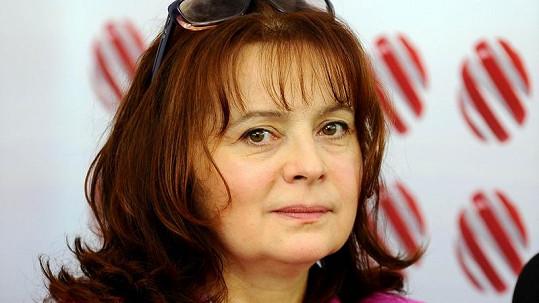 Libuše Šafránková má chřipku.