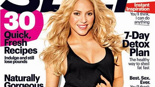 Shakira už je opět ve skvělé kondici.