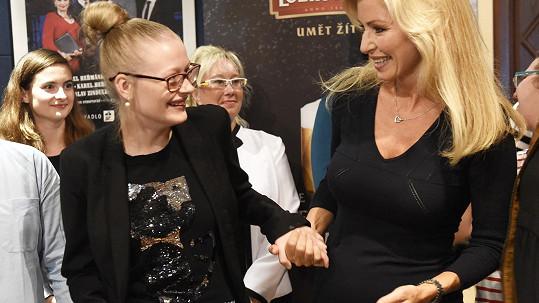 Márinka byla nadšená ze setkání s Kateřinou Brožovou.