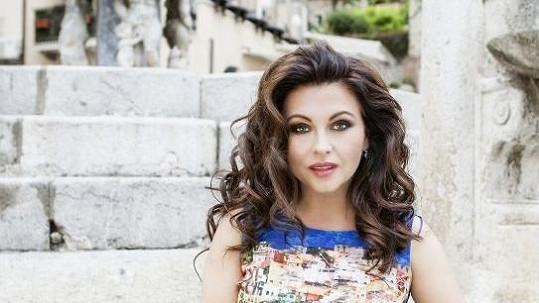 Dana Morávková v kampani na omlazující kosmetiku